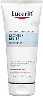 Eucerin Redness Relief Soothing Cleanser/Gel, 6.8-Ounce