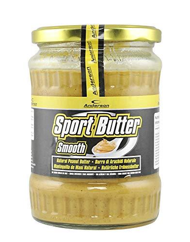 Burro di arachidi 100% naturale prodotto a freddo ricco di acidi grassi benefici 510 g Ricco di Omega 3 e Omega 6 Polifenoli e Antiossidanti