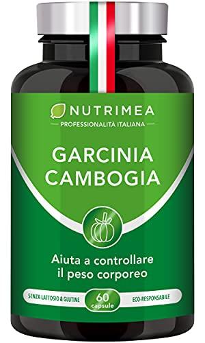 GARCINIA CAMBOGIA | Extra Forte Pura | Integratore per Dimagrire e Raggiungere il PESO FORMA | Brucia Grassi e Blocca Fame Naturale | 60 Capsule