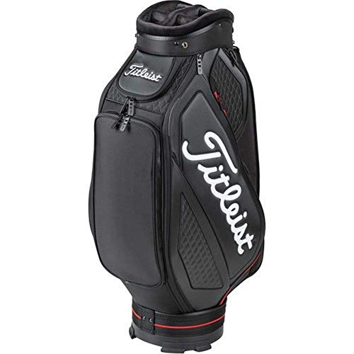 Titleist Midsize Carro Bolsa de Golf, Unisex Adulto, Blanco / Negro / Rojo, Talla Única
