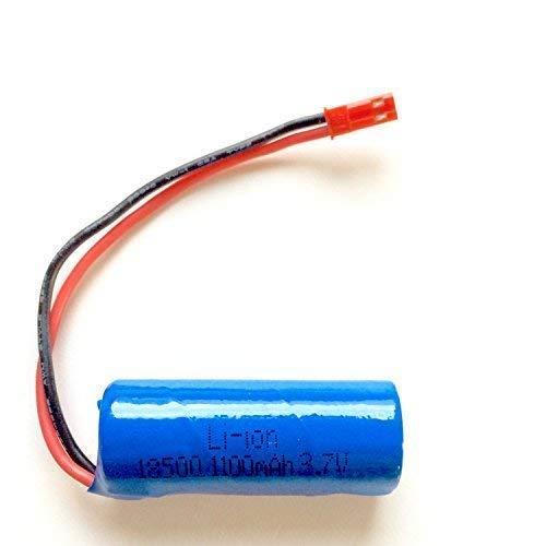 Batería de Ion de Litio 3.7V 1100MAH Batería de Vuelo Repuesto Red Flecha 68184 RC EVO 68111 RC Velo 68212 Instinct Fly 68208 Starkid 68665 990044