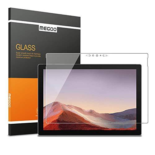 MEGOO Surface Pro 7 Screenschutzfolie [Gehärtetes Glas] Ultra klar, Anti-Scratch, Hochsensibel, Fre&liches Berühren, für Microsoft Surface Pro 7-12.3 Zoll geeignet