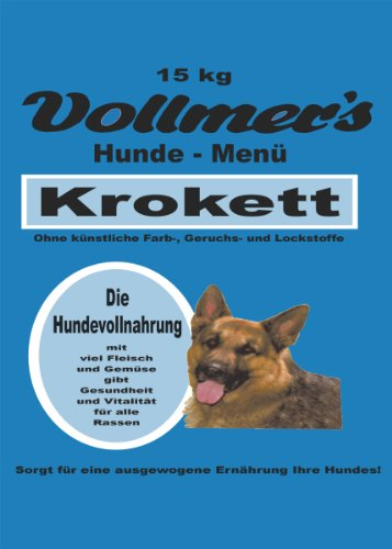 Vollmer's 37063 Hundefutter Krokett 15 kg