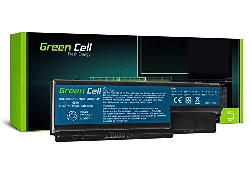 Green Cell Standard Serie AS07B31 AS07B32 AS07B41 AS07B42 AS07B51 AS07B52 AS07B61 AS07B71 JDW50 Akku für Acer/eMachines/Packard Bell Laptop (6 Zellen 4400mAh 10.8V Schwarz)
