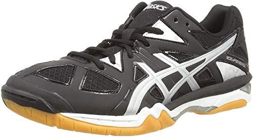 ASICS Gel-Tactic, Zapatillas de Voleibol Hombre, Negro (Black/Onyx/Silver 9099), 42