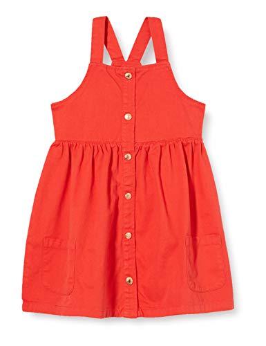 Blue Seven Mädchen Latzkleid Kinderkleid, 311 Tomate Orig, 2 Years