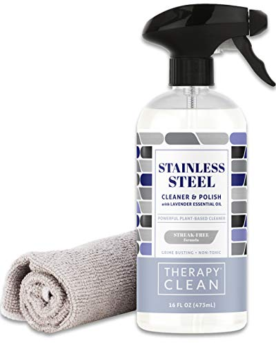Our #1 Pick is the Therapy Premium Stainless Steel Cleaner