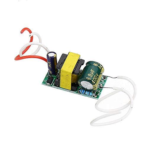 Módulo electrónico 4W 5W 6W 7W llevó el conductor de entrada AC85-265V fuente de alimentación integrada en la unidad de fuente de alimentación 260-280mA Iluminación LED Lámparas de DIY 5pcs Equipo ele