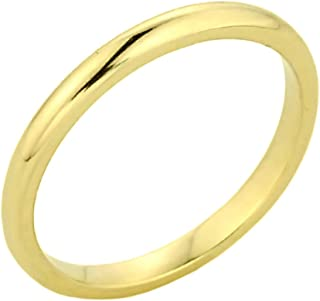 Solid 10k Yellow Gold Baby Ring