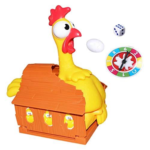 yotijay de plástico para maquillaje de gallina, para poner huevos, juego interactivo de sociedad, juego de pollo, Joke regalo, Party Game