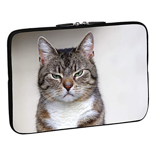 PEDEA Design Schutzhülle Notebook Tasche (17,3 Zoll, cat)