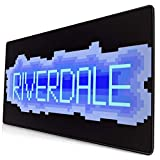 Ownspace Riverdale Mouse Pad Novelty Non-Slip Mouse Pad 16x30 Inch Large Mousepad for Computer Laptop PC Large Keyboard Gaming