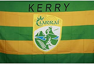 Kerry Official Ireland GAA Crest County Flag 152cm x91cm Very Limited Stock