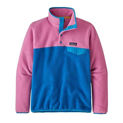 Patagonia Damen W's Lw Synch Snap-T P/O Sweatshirt, rosa (Marble Pink), L