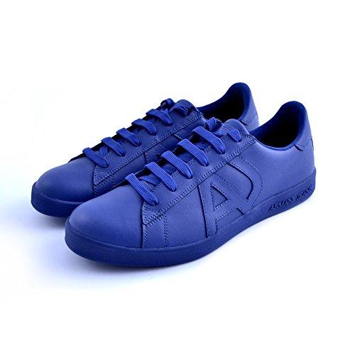 Emporio Armani Basket Armani Jeans - 935565-CC500-03833 - Age - Adulte, Couleur - Bleu, Genre - Homme, Taille - 42