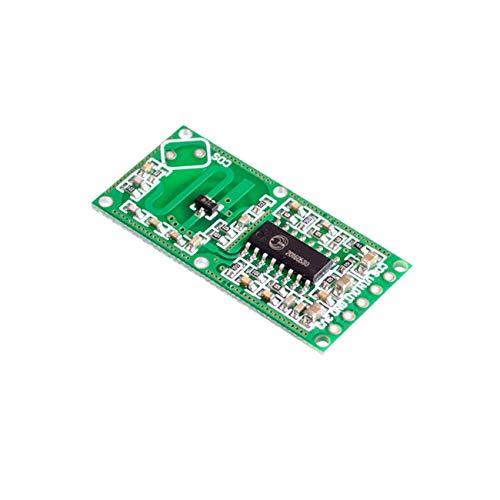 RCWL-0516 Doppler Radarsensor Bewegungsmelder Mikrowellenmodul für Arduino Human Body Induction Switch Intelligent Detection JBP-X