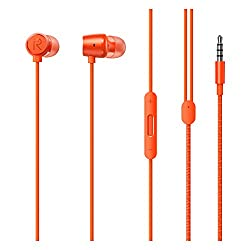 Realme Buds 2 with Mic for Android Smartphones (Orange),realme,Earbuds 2 Orange