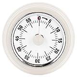 xinl timer di cottura, promemoria per il conto alla rovescia senza batteria timer da cucina per la(visual timer: white (no logo))