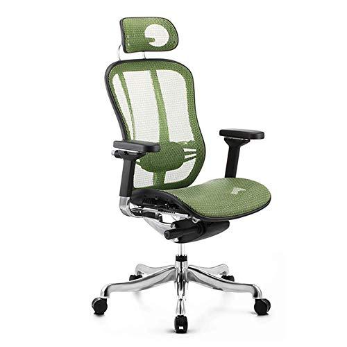 Ergonomischer Stuhl Computerstuhl Home Boss Stuhl Bürostuhl Bequemer sesshafter Taille Stuhl Rückenstuhl Der All-Aluminiumlegierungsrahmen ist wirksamer zum Schutz der Wirbelsäule und der Taille, 10 M