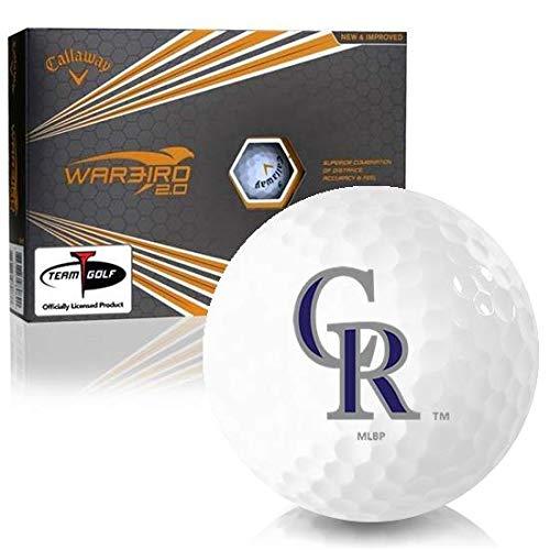 Callaway Golf Warbird 2.0 Colorado Rockies Golf Balls