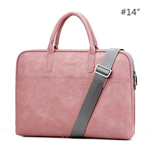 HaiQianXin Fashion PU lederen waterdichte schokbestendige krasbestendige laptoptas draagtas draagtas tas voor 13.3