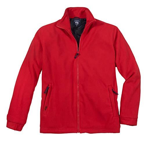 Brigg Fleecejacke Übergröße rot, XL Größe:6XL