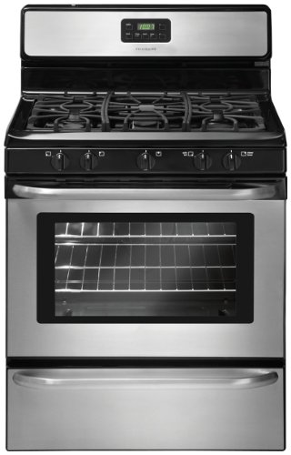30 in. Freestanding Gas Range – Stainless Steel