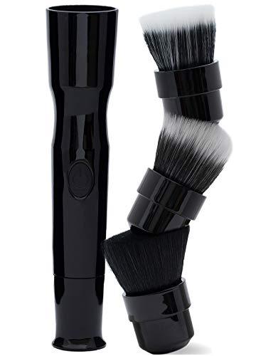 blendSMART2 Rotating Brush Glow 4-Piece Kit (Black), Packaging may vary