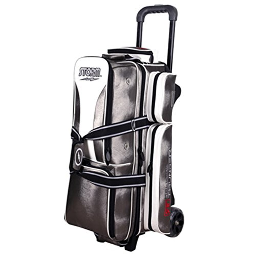 MICHELIN Storm 3 Ball Rolling Thunder Signature Series Bowling Bag Platinum