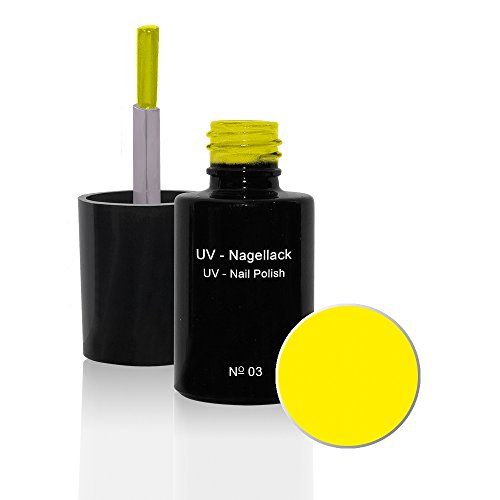 UV Vernis à ongles N°03 Sunshine Yellow 6ml