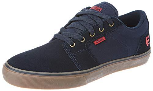 Etnies Barge LS, Zapatos de Skate Hombre, Marino/Goma/Oro, 37 EU