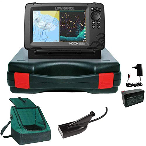 Lowrance Hook Reveal 7 83/200 HDI Echolot Portabel Basic Plus Komplettsystem