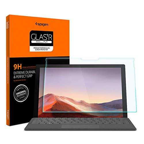 Best Price! Spigen Tempered Glass Screen Protector Designed for Surface Pro 7 (12.3 inch / 2019) [9H...