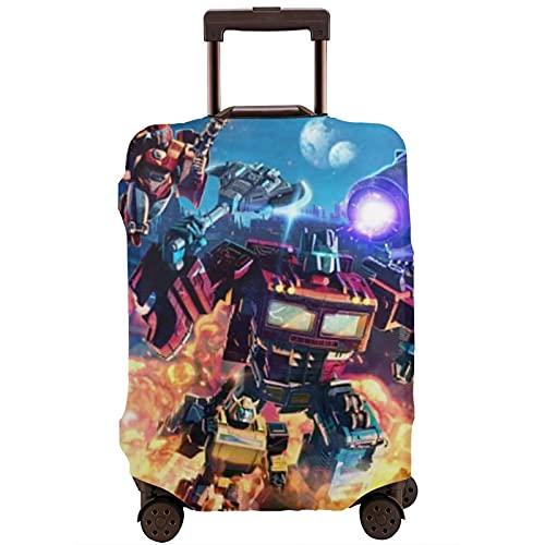 Transformers Optimus Prime Bumblebee Movies Maleta protectora Funda lavable 3D Diseño 4 tamaños para la mayoría de equipaje bolsa protectora cremallera