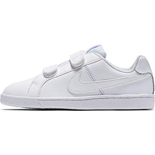 Nike Court Royale (Psv), Zapatillas de deporte Unisex niño, Blanco (Blanco (White/White), 31 EU