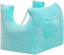Mastectomy Pillow for Recovery after Breast Surgery – Post Op Chest Pain Support Lumpectomy Healing and Reconstruction with 2 Pockets for Drain Pouches or Icepacks, Sleeping and Seatbelt Protector