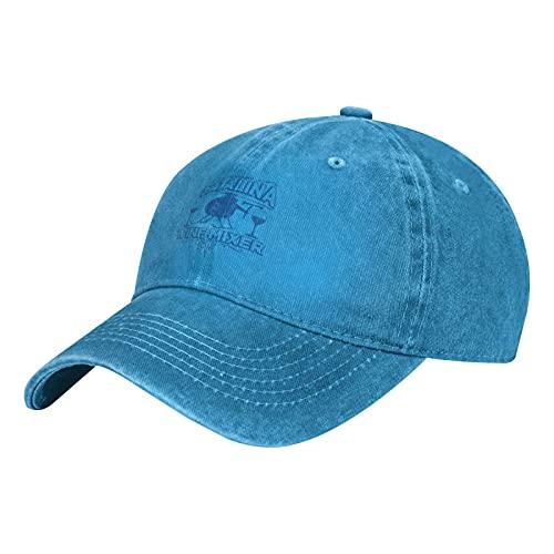 'N/A' Catalina Wine Mixer Theme Cowboy Hat Deportes Ocio Color Sólido Color Ajustable Gorra de béisbol Hombres y Mujeres, azul, Talla única