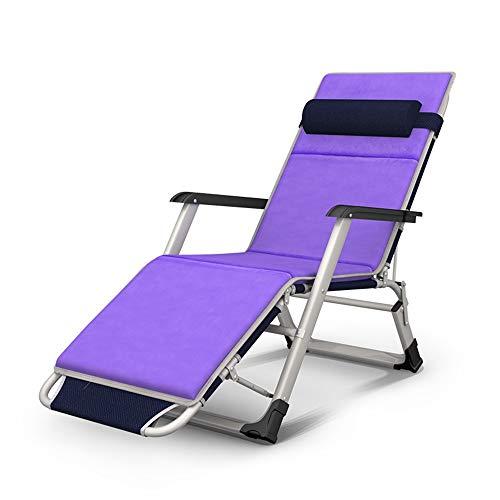 Chaise longue YNN Loisirs Extérieur Inclinable Réglage de la Position 3 de Bureau Pliante multifonctionnelle réglable (Couleur : C)