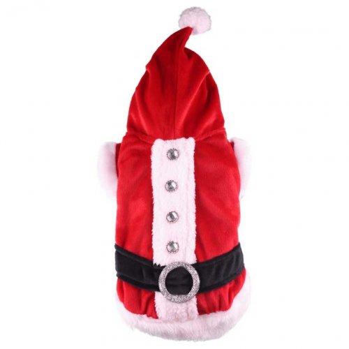 Doggydolly Manteau Noel pour Chien de