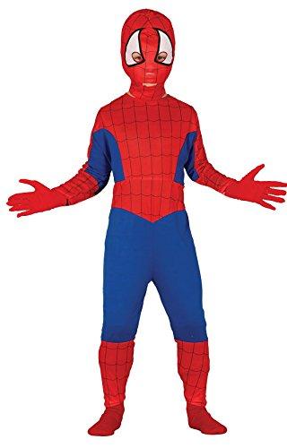 Guirca - Disfraz de Spiderman, talla 3-4 años, color rojo (83166)