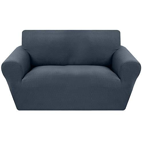 laamei Funda de sofá Funda de Sillón Protector Cubresofá Elástico Adaptable Rústica Funda Sillón 1 2 3 4 Plaza