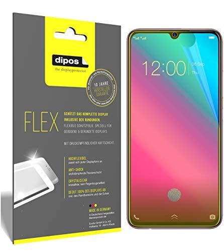 dipos I 3X Schutzfolie 100prozent kompatibel mit Vivo V11 Folie (Vollständige Bildschirmabdeckung) Bildschirmschutzfolie