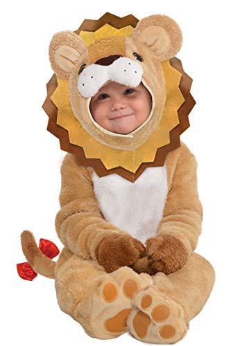 Amscan 9900885 - Babykostüm kleiner Löwe, König der Tiere, Karneval, Mottoparty