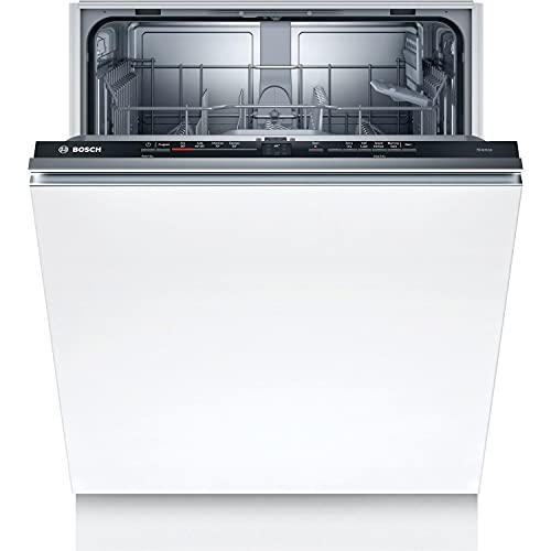 Bosch SGV2ITX18G Serie 2 Fully-integrated Dishwasher with ExtraDry, InfoLight, Auto Programmes, EcoSilence Drive and AquaStop, 12 place setting, 60 cm