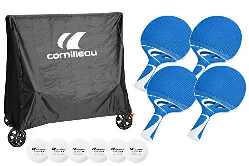 Cornilleau Unisex's Premium Accessory Pack Table Tennis, Various, One Size