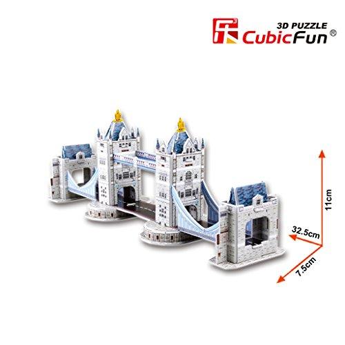 CubicFun Puzzle 3D Tower Bridge (Tachan S3010h)