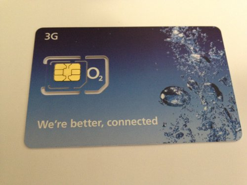 Official O2 micro sim card for iphone 4 / 4s / ipad sealed retail pack rrp £19.99 *one sim per customer limit*