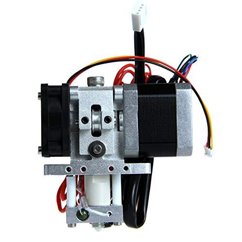 ZSHENG GT6 Montage Extruder 0,3/0,35/0,4/0,5 mm Düse für 1,75/3 mm Filament NEMA17 Hotend Mendel