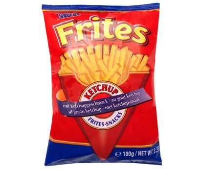 Snack Chips Frites-Snacks Ketchup 100g