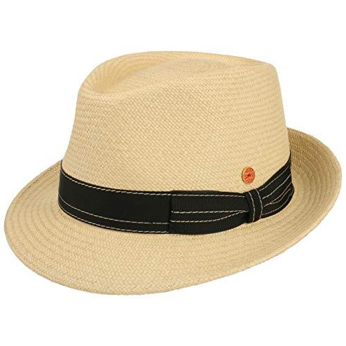 Mayser Chapeau Panama Henrik Cuenca Chapeau de Soleil Chapeau en Paille (56 cm - Nature)